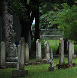 Old Gravestones Royalty Free Stock Photos