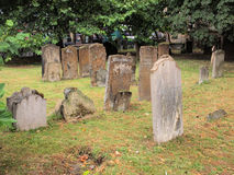 Old Gravestones in Churchyard, Oxford Stock Photo