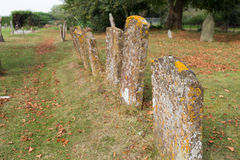Old Gravestones Royalty Free Stock Images