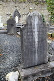 Old gravestones and stone walls, St.Mary's Cathedral,Limerick,Ireland,2014 Royalty Free Stock Images