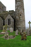 Old gravestones and structures,Rock Of Cashel,County Tipperary, Ireland,October,2014 Stock Images
