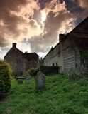 Old graveyard Royalty Free Stock Photography