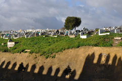 Old graveyard in Fes Stock Photos