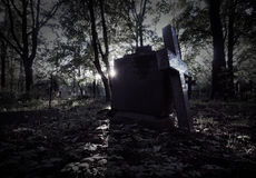 Old graveyard, nobody Royalty Free Stock Photos