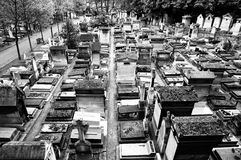 Old graveyard in Paris Royalty Free Stock Photo