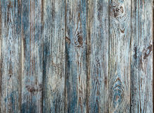 Old gray-blue painted grunge wood planks background Stock Images