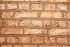 Old gray brick wall as background Royalty Free Stock Image