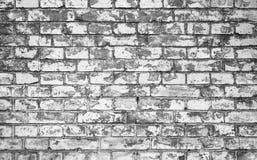 Old gray brick wall, closeup background Royalty Free Stock Photography