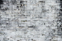 Old gray brick wall texture background.Rough brick wall.Backgro stock image