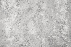 Old gray concrete wall with stucco Stock Photography