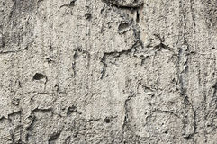 Old gray concrete wall , texture Royalty Free Stock Photos
