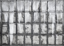 Old gray concrete wall background texture Stock Photography