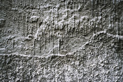 Old gray dusty plaster Stock Photography