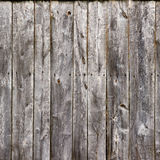 Old gray fence boards wood texture Royalty Free Stock Images
