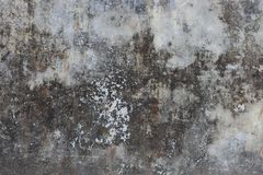 Old gray grunge cement wall as vintage aged concrete texture background. Weathered grey cement wall Stock Images