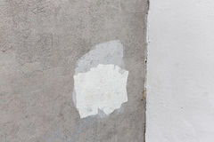 Old gray painted wall Royalty Free Stock Image
