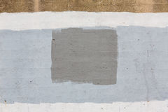 Old gray painted wall Stock Image