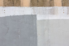 Old gray painted wall Royalty Free Stock Photo