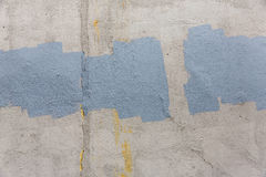 Old gray painted wall Royalty Free Stock Photos