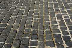 Old gray pavement Royalty Free Stock Photography