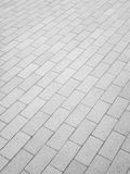 Old gray pavement tiles background Royalty Free Stock Photos