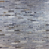 Old gray stone brick wall Royalty Free Stock Photography