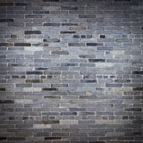 Old gray stone brick wall Royalty Free Stock Photos