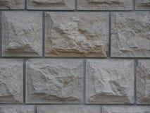 Old gray stone brick wall. Old light grey stone brick wall background image Royalty Free Stock Photography