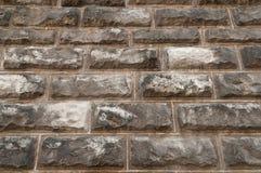 Old gray stone wall Stock Photo