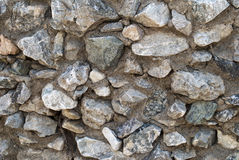 old gray stone wall Stock Photography