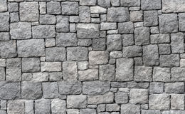 Old gray stone wall, seamless background texture. Old gray stone wall, seamless background photo texture Royalty Free Stock Photo