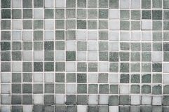 Old gray tile wall royalty free stock photography