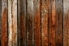 The old gray wall of the boards, the dark texture stock photography
