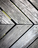 Old gray wood background texture. Grungy gray background of natural wood plank or wooden old texture Stock Image