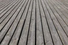 Old gray wood planking Royalty Free Stock Photo