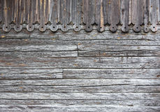 Old gray wood planks Royalty Free Stock Photography