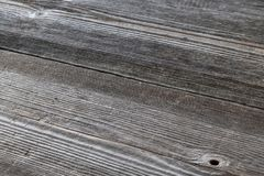 Old, gray wooden boards as a background. royalty free stock photography