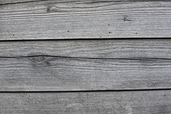 Old gray wooden boards Stock Images