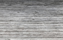 Old gray wooden floor. Background photo Stock Photography