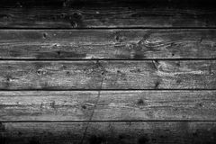 Old Gray Wooden Planks Texture Royalty Free Stock Image