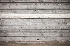 Old gray wooden wall, background texture Royalty Free Stock Photo