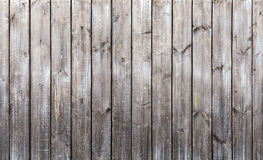 Old gray wooden wall, background texture Stock Images