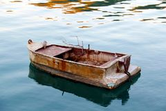 Old Greek boat Royalty Free Stock Image