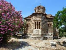 Old Greek church Royalty Free Stock Photos