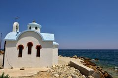 Old Greek Church Stock Images