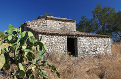 Old Greek farmhouse Stock Photo