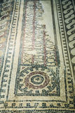 Old greek floor mosaic Royalty Free Stock Photography