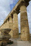 Old Greek Temple in Selinunte Royalty Free Stock Photo