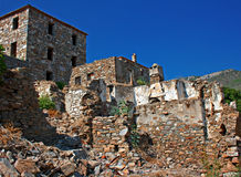Old Greek/Turkish village of Doganbey, Turkey 9 Stock Photography