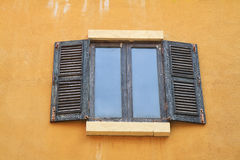 Old greek  windows Royalty Free Stock Photography